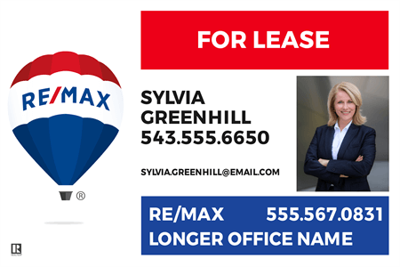 RE/MAX Agents Yard Sign: 2358-3