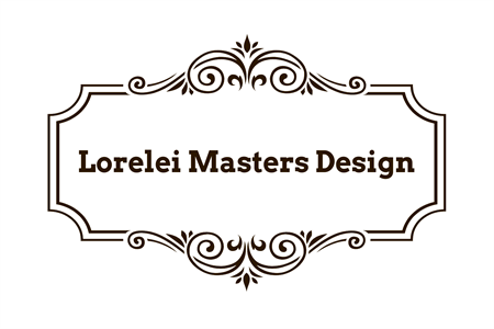 Elegant Logo Design Window Decal: 1260-2
