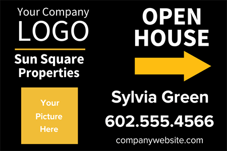 Agent Open House Postcard: 693-3