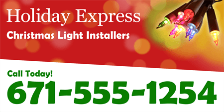 Christmas Light Installation Car Magnet: 878-1