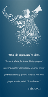 Christmas Scripture Pole Banner: 388-6