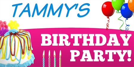 Birthday Party Banner: 920-1