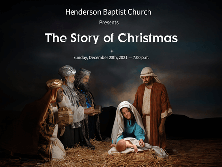 Christmas Pageant Flyer: 988-1
