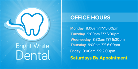 Dentist Office Hours Business Card: 1044-1
