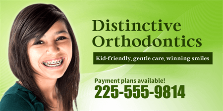 Orthodontist Office Business Card: 1047-1