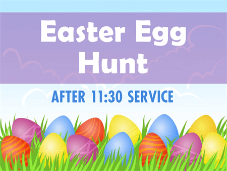 Egg Hunt Flyer: 1170-1