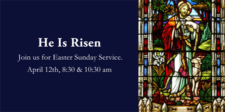 Easter Sunday Service Banner