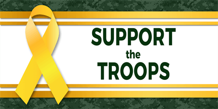 Support The Troops Banner: 1279-1