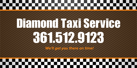Taxi Service Banner: 1396-1
