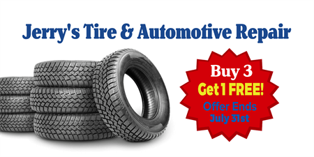 Tire Sale Banner: 1411-1