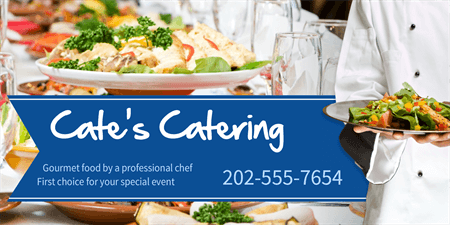 Gourmet Catering Menu Board: 1468-1