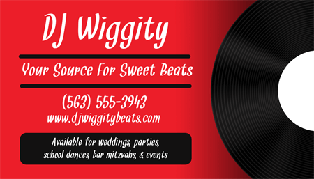 Vinyl Record Business Card: 1530-1