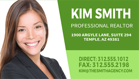 Professional Realtor Business Card: 1561-1