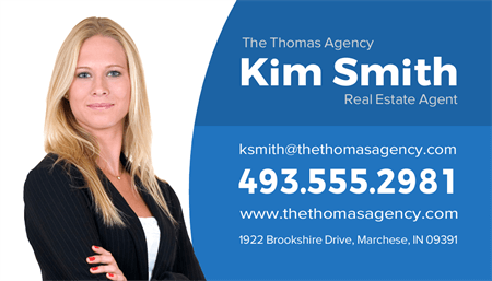Real Estate Woman Business Card: 1564-1