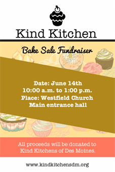 Bake Sale Fundraiser Flyer: 1974-1