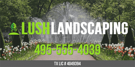 Landscape Maintenance Car Magnet: 2508-1