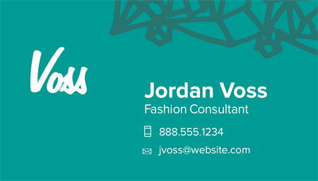 Business Consultant Business Card: 2692-1