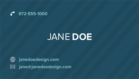 Classic Stripes Business Card: 2699-1