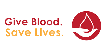 Donate Blood Banner: 3142-1