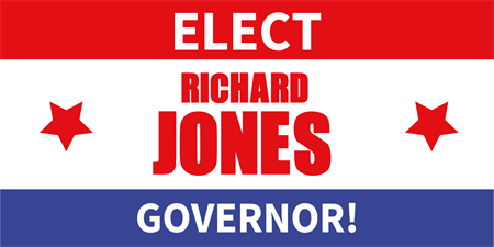Governor Campaign Election Banner: 141-1