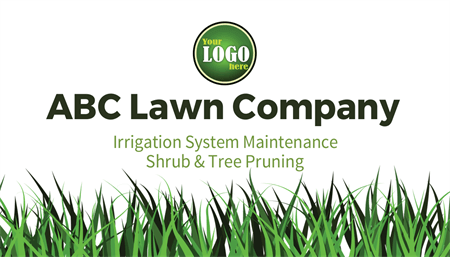 Lawn Company Business Card: 515-2