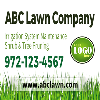 Lawn Company Backdrop: 515-6