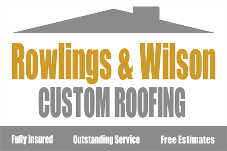 Roofing and Construction Company Rear Window Graphic: 220-4
