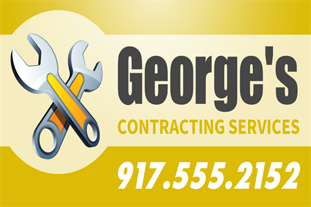 Contractor Services Decal: 905-2