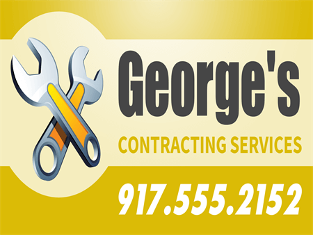 Contractor Services Car Magnet: 905-6