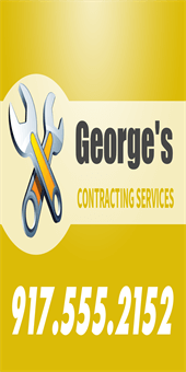Contractor Services Pole Banner: 905-9