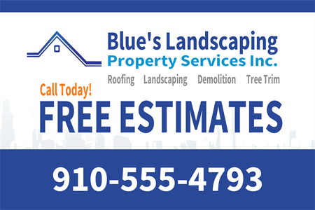 Landscaping Management Rear Window Graphic: 440-5