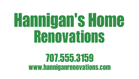 Home Renovation Company Business Card: 447-9