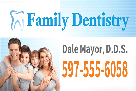 Dentist Office Postcard: 855-2