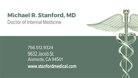 Medical Office Business Card: 1061-9