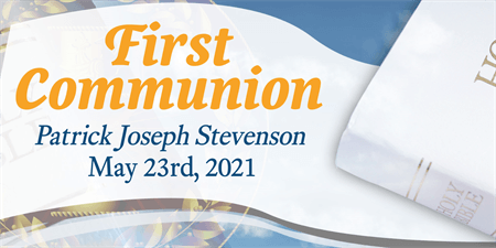 1st Communion Flyer: 279-1