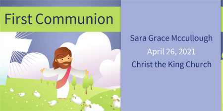 Children's 1st Communion Flyer: 280-1