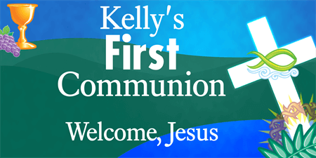 Church 1st Communion Flyer: 281-1