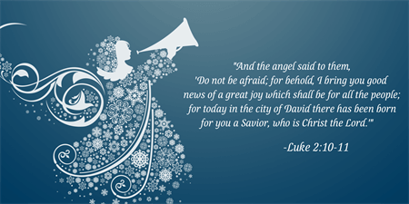 Christmas Scripture Flyer: 388-1