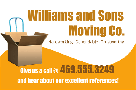 Moving Company Vinyl Lettering: 231-4