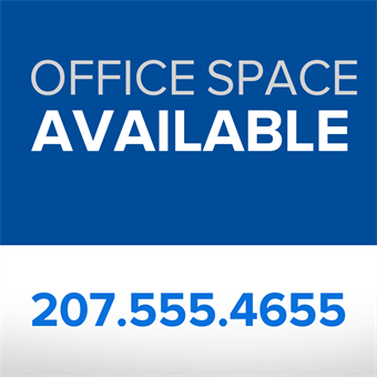 Office Space for Lease Flyer: 883-6