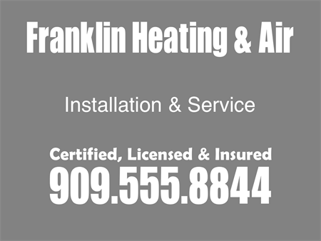 Heating And Air Install Car Magnet: 896-6