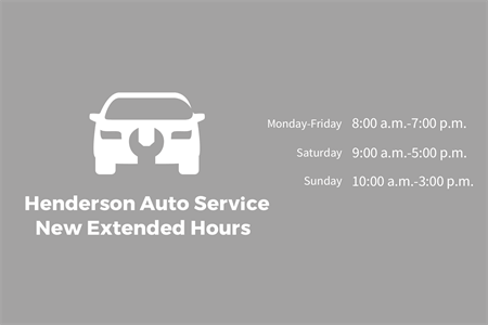 Auto Repair service hours Window Decal: 1487-4