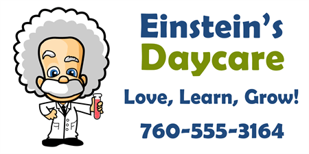 Educational Daycare Banner: 485-1