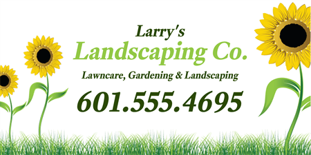 Garden And Lawn Care Car Magnet: 487-1