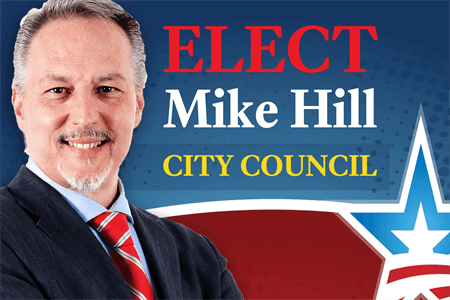 City Council Election Decal: 1135-4
