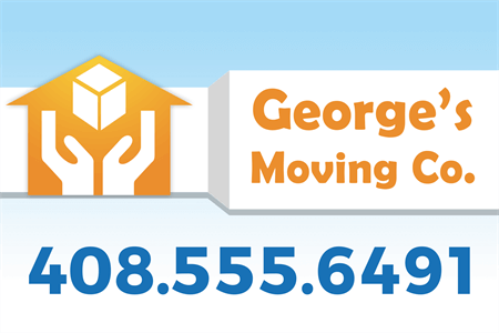 Moving Services Rear Window Graphic: 907-4
