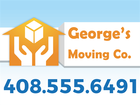 Moving Services Car Magnet: 907-7