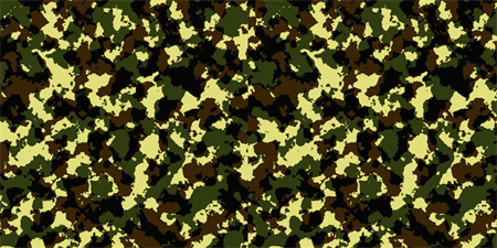 Camouflage Banner: 498-1