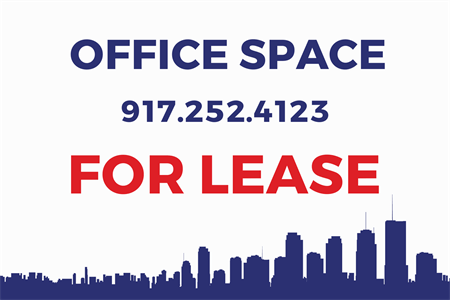 Building For Lease Die-Cut Decal: 602-2