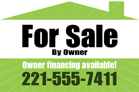 FSBO Window Decal: 830-2